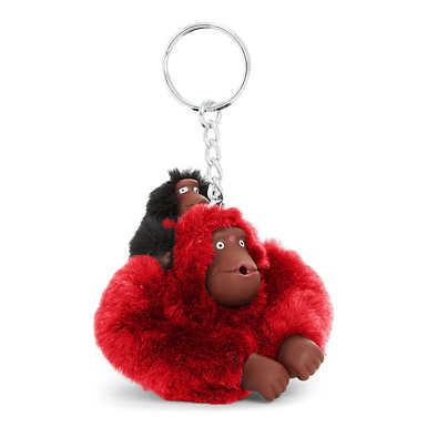 Baby Monkey Keychain - Cherry Classic