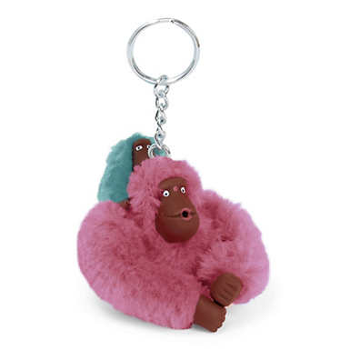 Baby Monkey Keychain - Radiant Splash