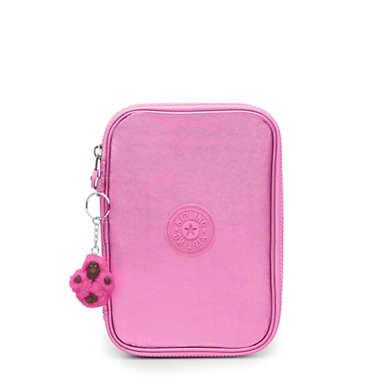 100 Pens Metallic Case - Prom Pink Metallic