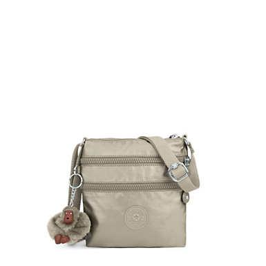 Alvar Extra Small Metallic Mini Bag - Metallic Pewter