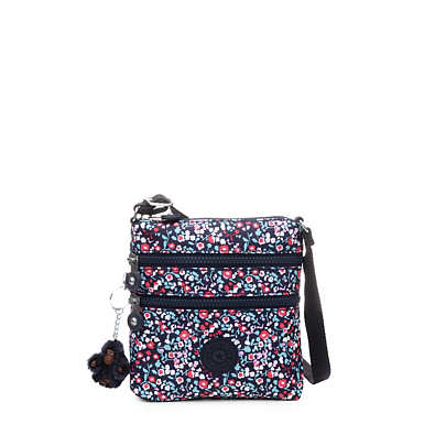 Alvar Extra Small Printed Mini Bag - Glistening Poppy  Blue