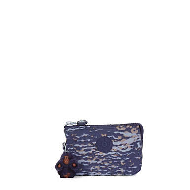 Creativity Small Printed Pouch - Water Camo