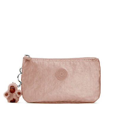 Creativity Large Metallic Pouch - Rose Gold Metallic