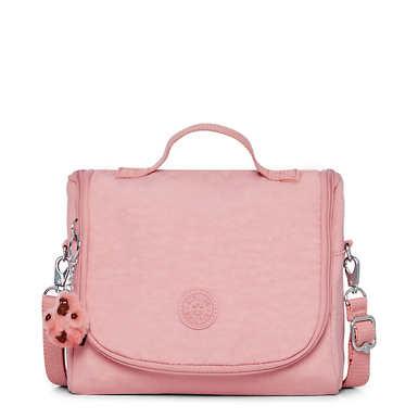 Kichirou Lunch Bag - Strawberry Pink Tonal Zipper