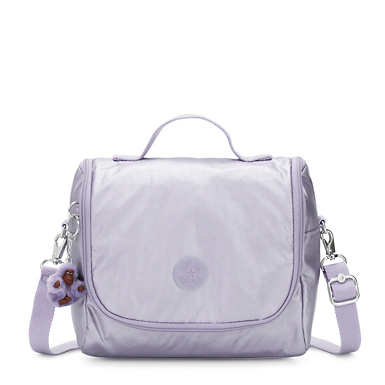 Kichirou Metallic Lunch Bag - Frosted Lilac Metallic