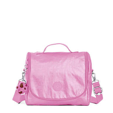 Kichirou Metallic Lunch Bag - Prom Pink Metallic