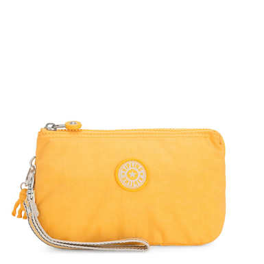 Creativity Extra Large Wristlet - Vivid Yellow