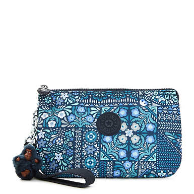 Creativity Extra Large Printed Pouch - Dizzy Darling Blue