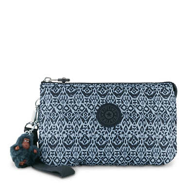 Creativity Extra Large Printed Pouch - Geometric Bliss