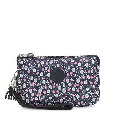Creativity Extra Large Printed Pouch - Floral Rush