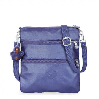Rizzi Metallic Convertible Mini Bag - Enchanted Purple Metallic