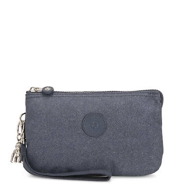 Creativity Extra Large Pouch - Navy Blue Twist