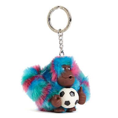 Soccer Monkey Keychain - Multi