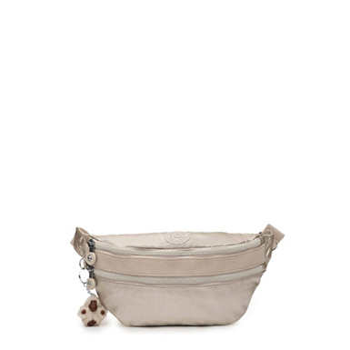 Yasemina Fanny Pack - Cloud Grey Metallic