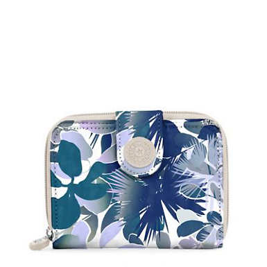 New Money Small Printed Credit Card Wallet - undefined