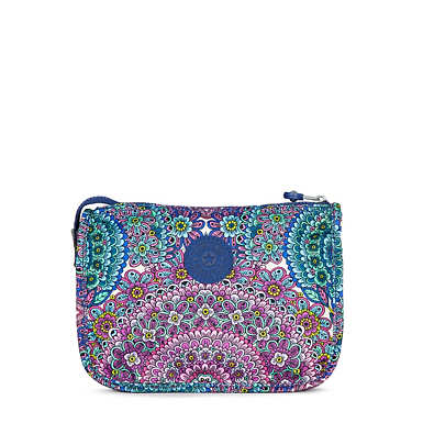 Harrie Printed Pouch - Sunshine Happy Purple