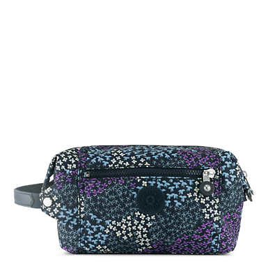 Aiden Printed Toiletry Bag - Dotted Bouquet