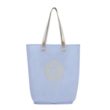 Hip Hurray Foldable Tote Bag - Belgian Blue