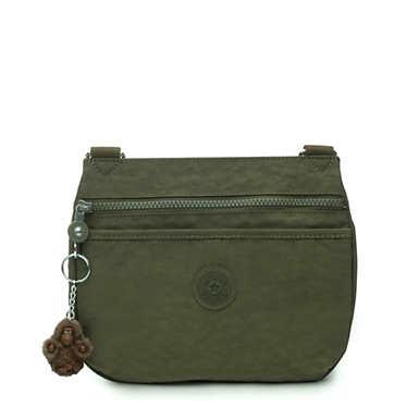 Emmylou Crossbody Bag - Jaded Green Tonal Zipper