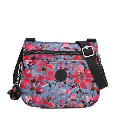 Emmylou Printed Crossbody Bag - Festive Floral