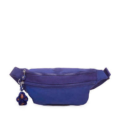 Yasemina Fanny Pack - Cobalt Dream Tonal Zipper