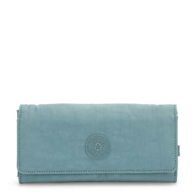 New Teddi Snap Wallet - Aqua Frost
