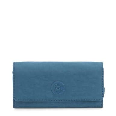 New Teddi Snap Wallet - Mystic Blue