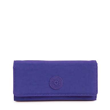 New Teddi Snap Wallet - Cobalt Dream Tonal Zipper