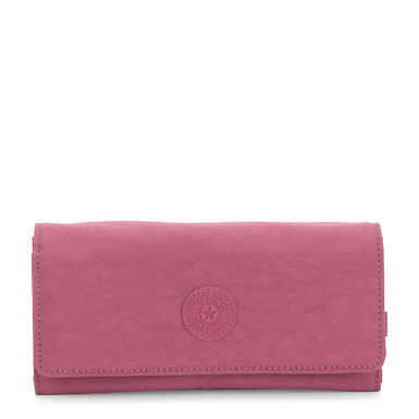 New Teddi Snap Wallet - Fig Purple