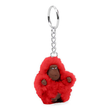 Extra Small Monkey Keychain - Cherry