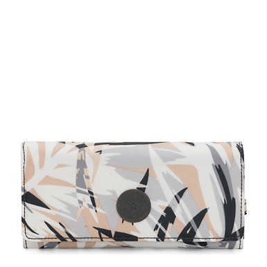 New Teddi Printed Snap Wallet - Urban Palm