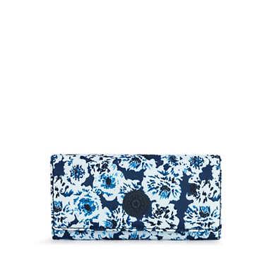 New Teddi Printed Snap Wallet - Roaming Roses