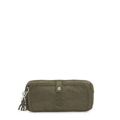 Wolfe Pencil Pouch - Jaded Green