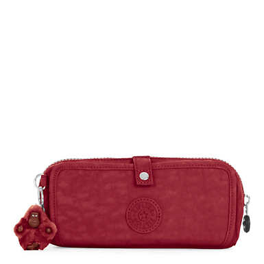 Wolfe Pencil Pouch - Brick Red