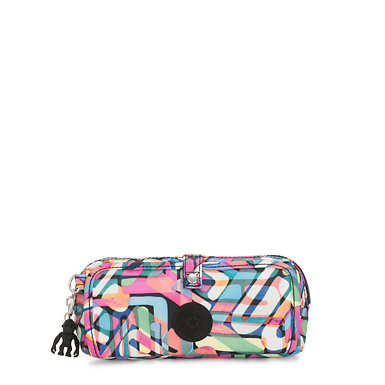 Wolfe Printed Pencil Pouch - Wild Melody