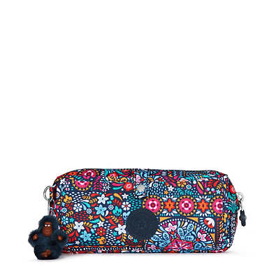 Wolfe Roll-Up Pencil-Makeup Pouch - Dizzy Darling Multi
