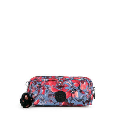 Wolfe Printed Pencil Pouch - Festive Floral