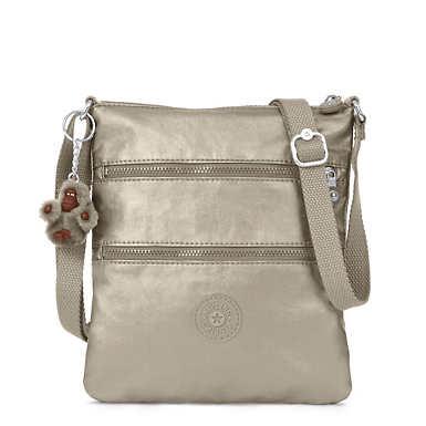 Keiko Metallic Mini Bag - Metallic Pewter