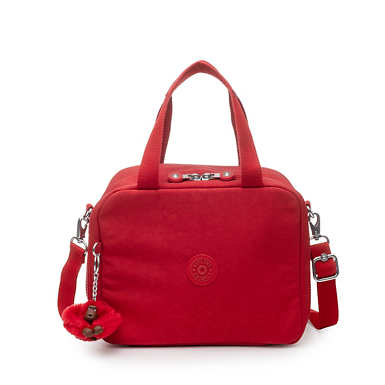 Miyo Lunch Bag - Cherry Tonal Zipper