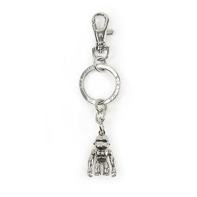 Mega Monkey Key Charm - Silver