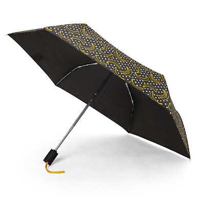 Auto Open Printed Umbrella - Banana Dot Mania
