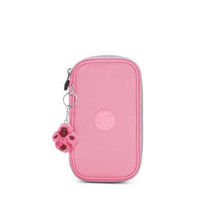 50 Pens Case - Pink Macaroons