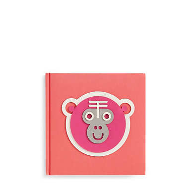 Monkey Notebook - Red Rust