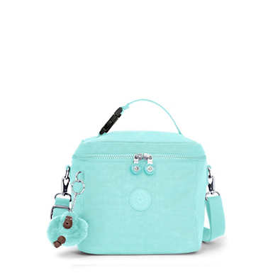 Graham Lunch Bag - Fresh Teal Tonal Zipper