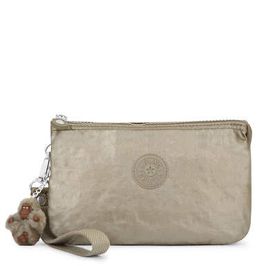 Creativity XL Metallic Pouch - Metallic Pewter