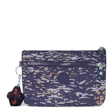 Ness Small Printed Pouch - Water Camo