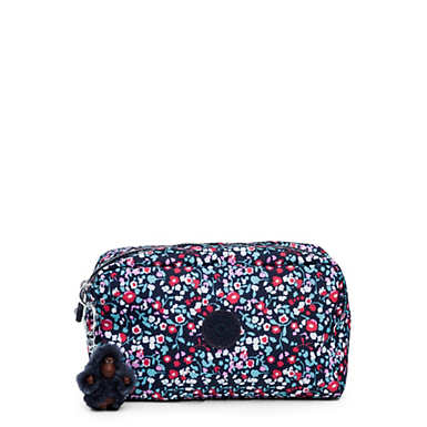 Gleam Printed Pouch - Glistening Poppy  Blue