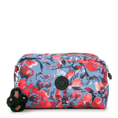 Gleam Printed Pouch - Festive Floral