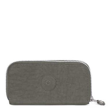 Uzario Large Wallet - Dusty Grey