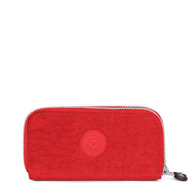 Uzario Large Wallet - Cherry